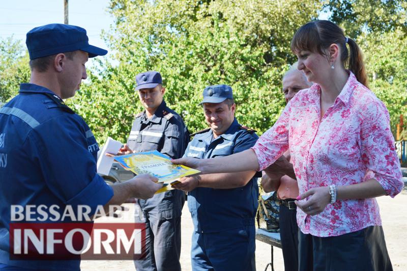 DSC_0888 Без подарков не обошлось: килийские спасатели принимали поздравления с профессиональным праздником