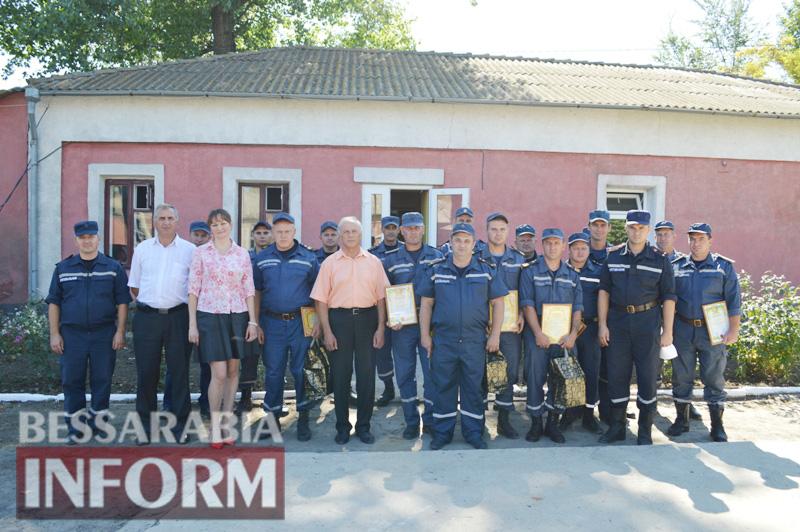 DSC_0901 Без подарков не обошлось: килийские спасатели принимали поздравления с профессиональным праздником