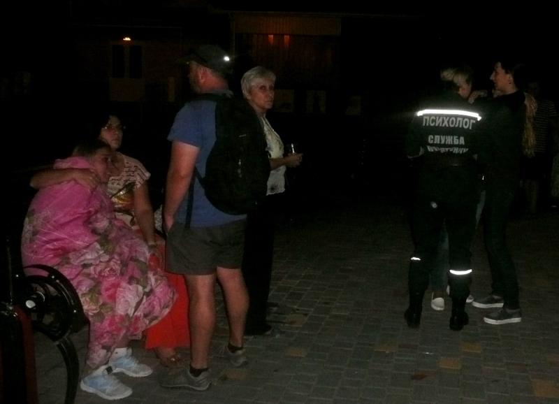 """P1290674 Прошедшей ночью в Одессе горел детский лагерь """"Виктория"""": погибли дети"""