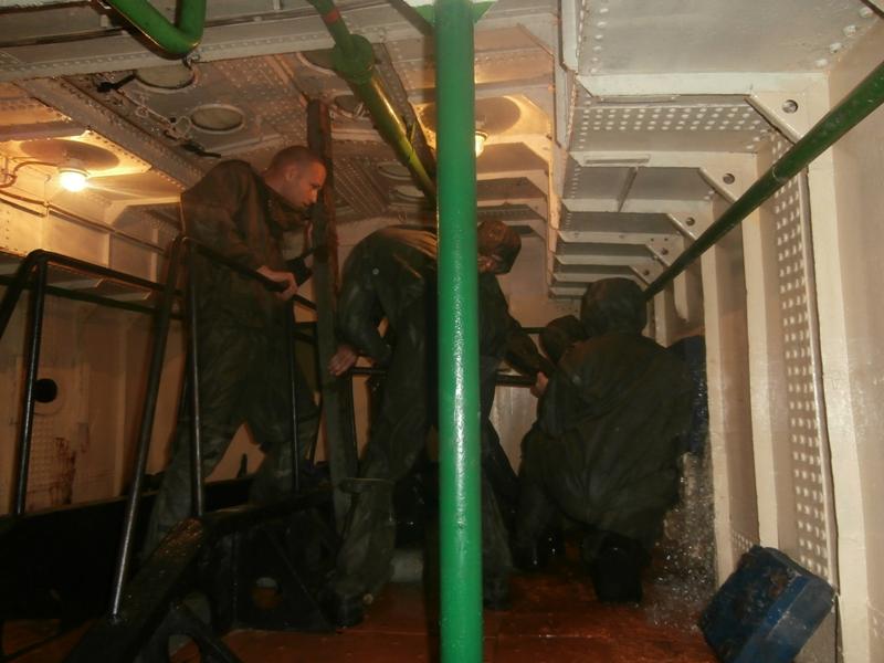 Делегация из Румынии посетила Измаильский учебно-тренировочный отряд морской охраны