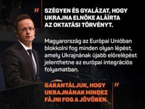 Венгрия сделала заявление, что будет блокировать любое сближение Украины и ЕС