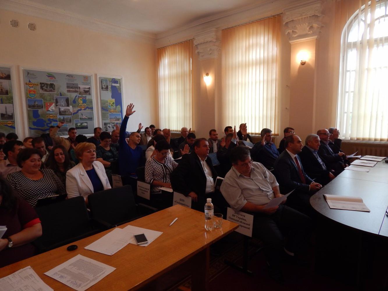 Депутаты Ренийского районного совета распределили дополнительные 17 млн гривен бюджета