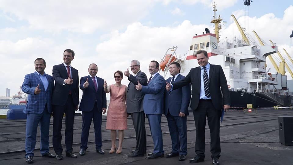 Порт Одесской области начал принимать американский антрацит для украинских ТЭЦ