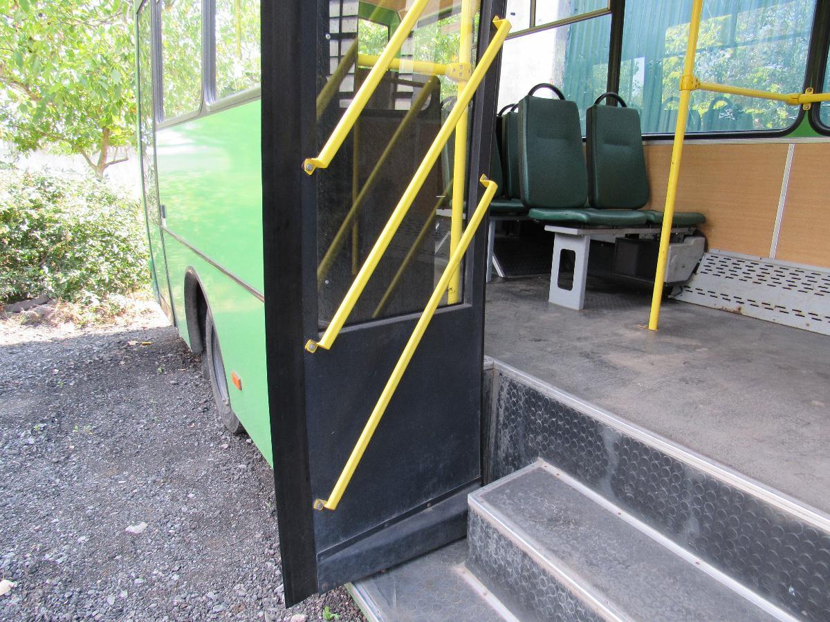В Аккермане на маршрут № 3 запущен новый пассажирский автобус  для людей с ограниченными возможностями
