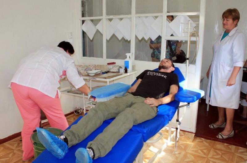Измаил: станция переливания крови впервые за историю существования получила новое донорское кресло