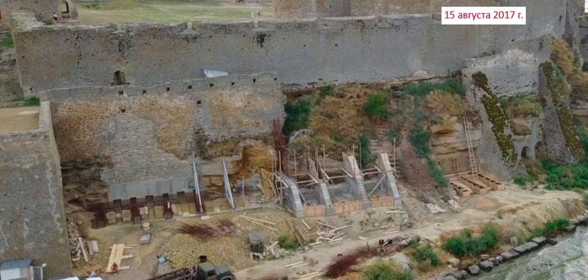 1507058396_22219588_482688542101091_2373702231473507443_o Историков беспокоит судьба рушащейся Аккерманской крепости, которую подрядчик-реставратор превратил в долгострой