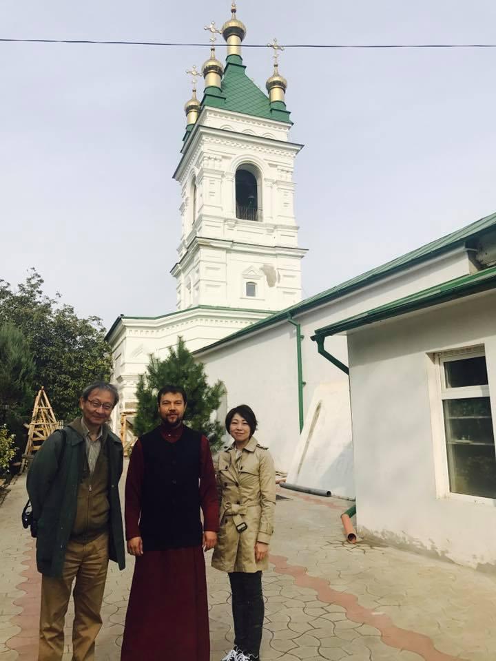 Старинную полуподземную килийскую церковь посетили гости с Дальнего Востока