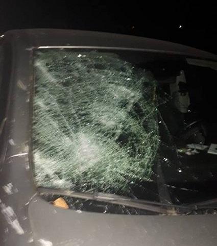 В Белгород-Днестровском районе вылетевший из багажника «Жигулей» шифер повредил встречное авто