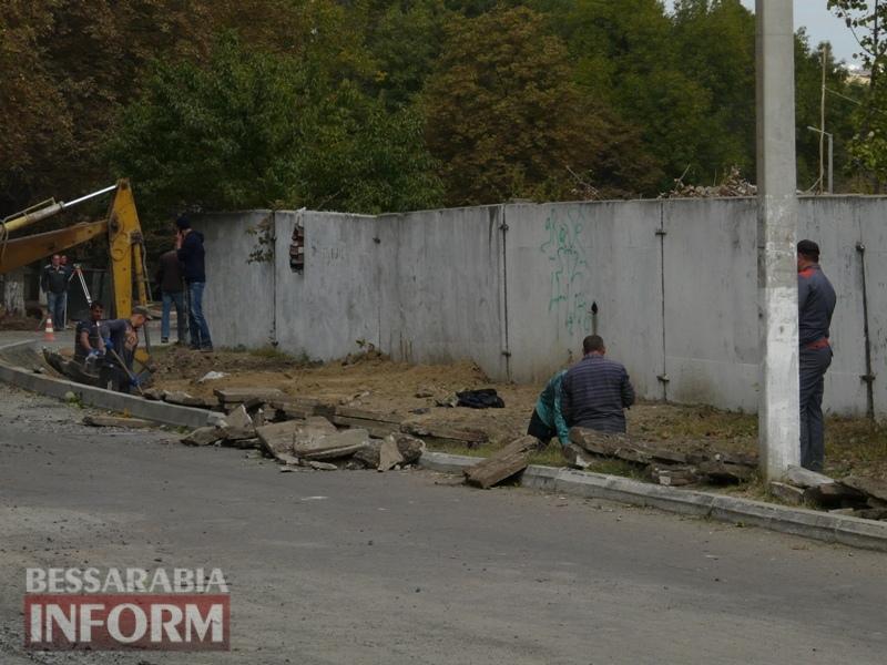 Модернизация Измаила: улица Поперечная становится шире