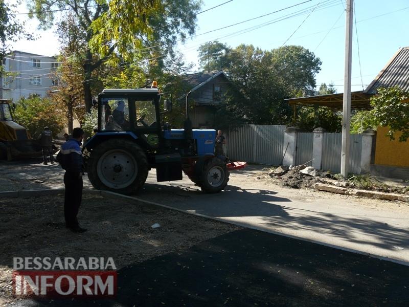 59e5e366b9c88_P1140286 В Измаиле стартовал капитальный ремонт улицы Кишиневской