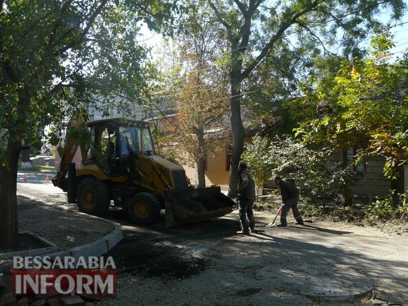 59e5e36a3c839_P1140287 В Измаиле стартовал капитальный ремонт улицы Кишиневской