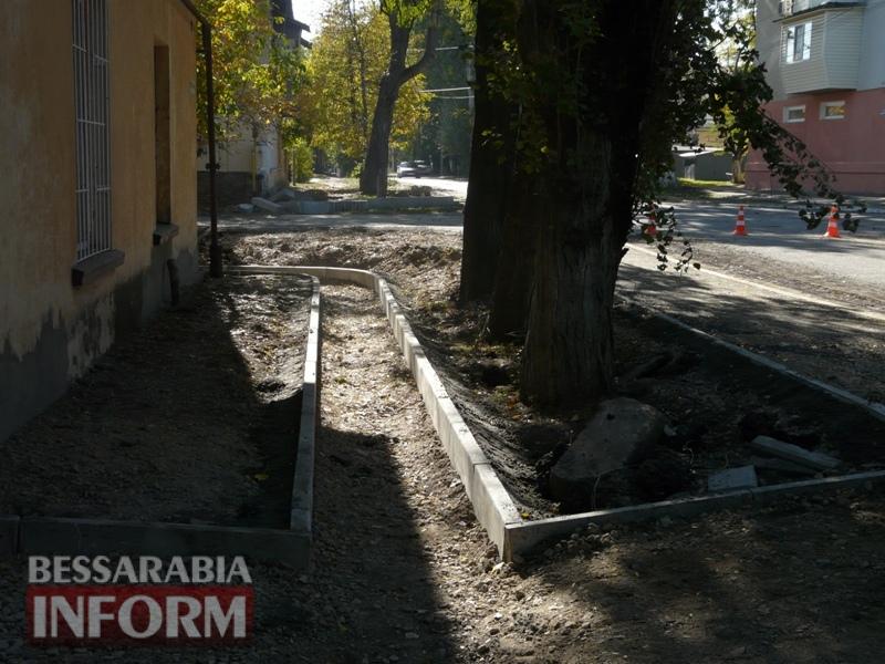 59e5e36cde6e8_P1140290 В Измаиле стартовал капитальный ремонт улицы Кишиневской