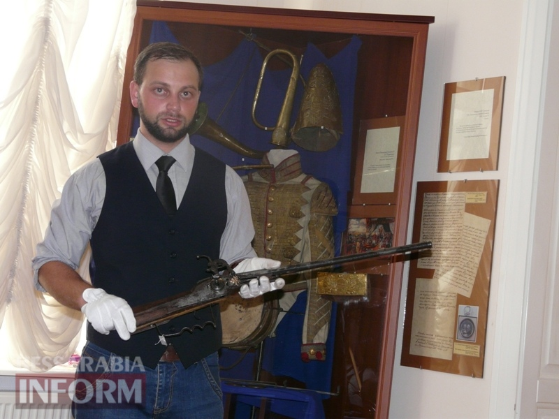 59e75f289f0be_P1140351 В Измаиле продемонстрировали подлинные образцы казацкого оружия