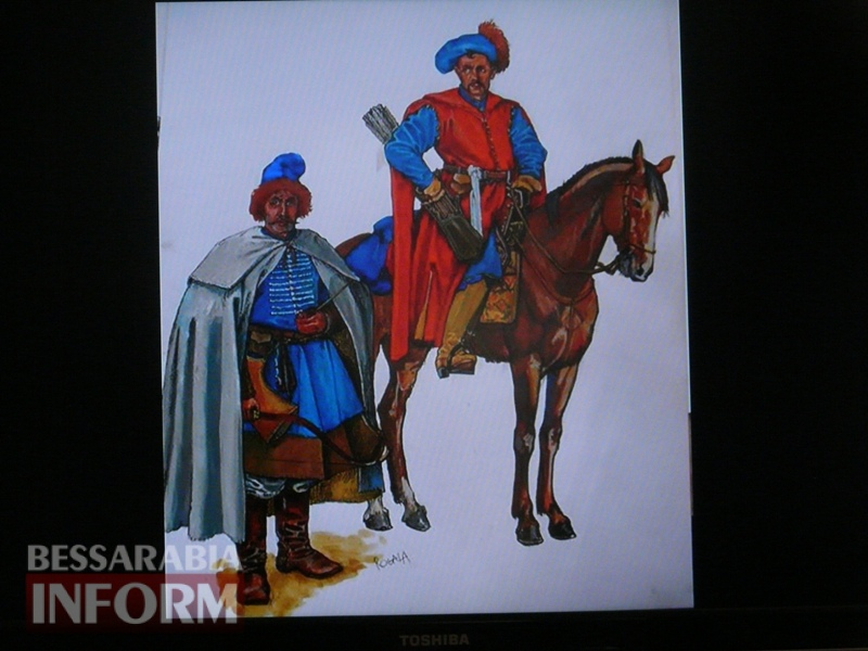 В Измаиле продемонстрировали подлинные образцы казацкого оружия