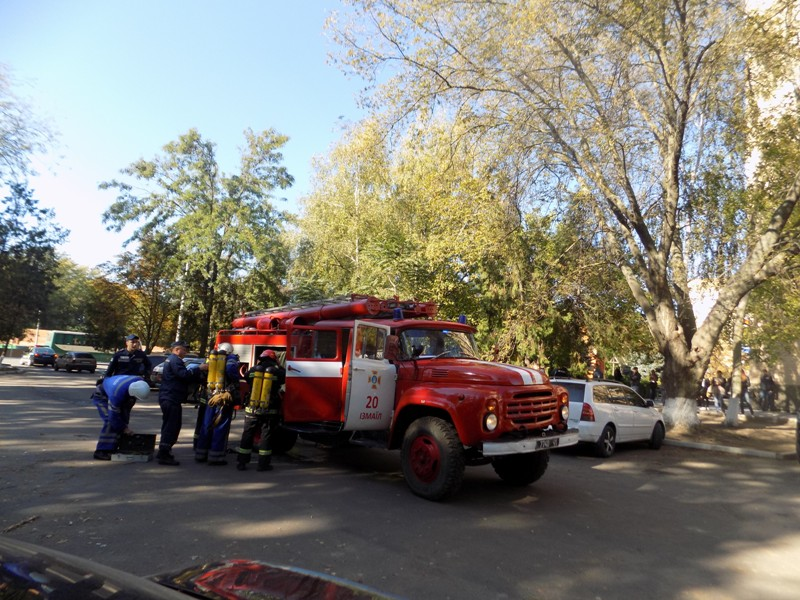 """Измаильский отдел полиции был экстренно """"эвакуирован"""" из собственного здания"""