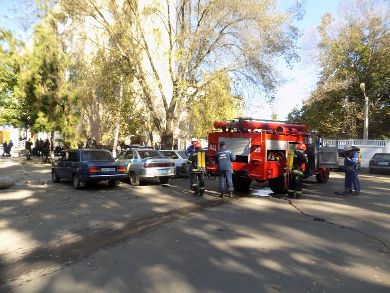 """DSCN0260 Измаильский отдел полиции был экстренно """"эвакуирован"""" из собственного здания"""
