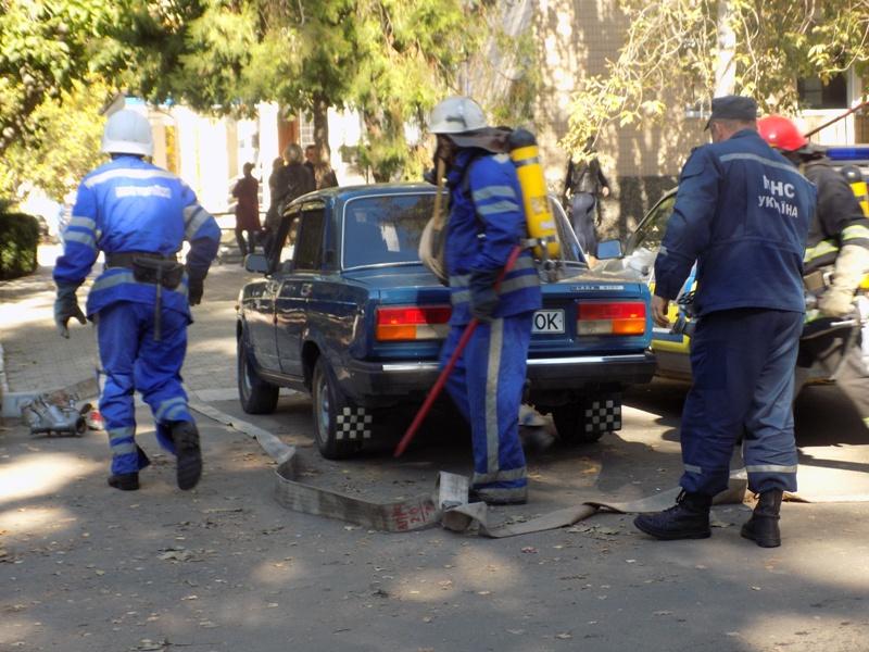 """DSCN0263 Измаильский отдел полиции был экстренно """"эвакуирован"""" из собственного здания"""