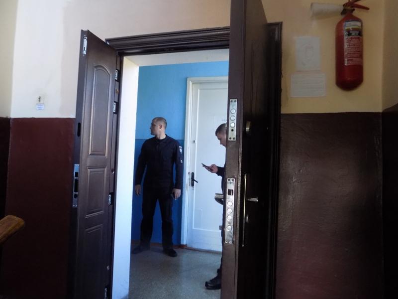"""DSCN0278 Измаильский отдел полиции был экстренно """"эвакуирован"""" из собственного здания"""