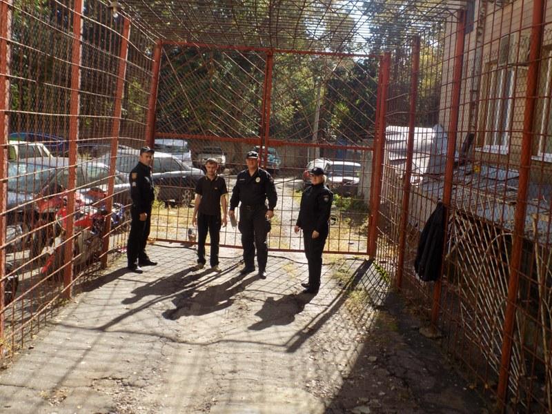 """DSCN0287 Измаильский отдел полиции был экстренно """"эвакуирован"""" из собственного здания"""