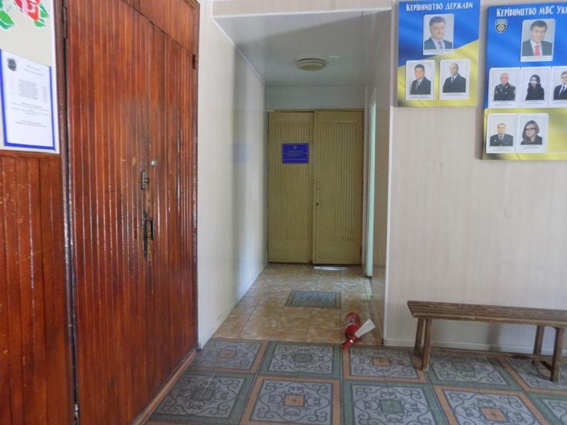 """DSCN0290 Измаильский отдел полиции был экстренно """"эвакуирован"""" из собственного здания"""
