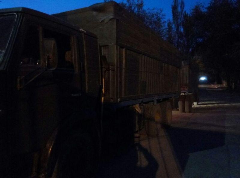 Измаил: полицейские разыскали «Камаз», который снес светофор и скрылся с места ДТП