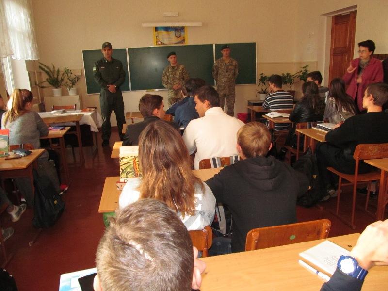 Измаил: пограничники провели профориентационную работу с выпускниками городских школ