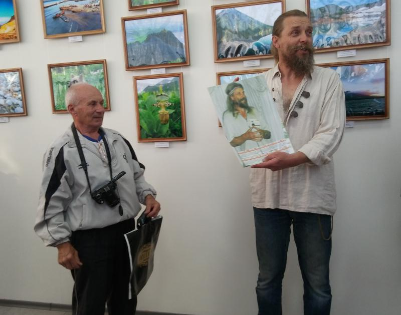 Измаильский фотограф и российский вулканолог презентовали уникальные кадры, отснятые на Курильских островах