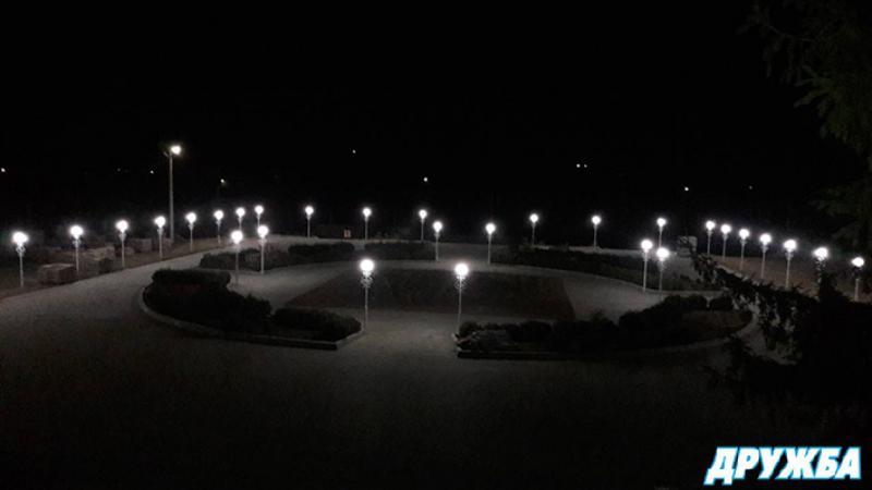 В селе Болградского района отреставрировали площадь перед Домом культуры