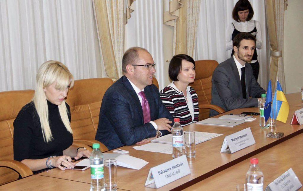 В Одесском регионе впервые побывал Посол ЕС в Украине