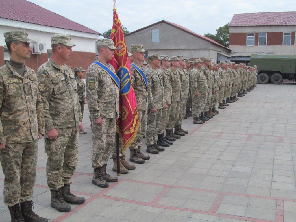Военнослужащие Белгород-Днестровского отметили 62-годовщину создания части