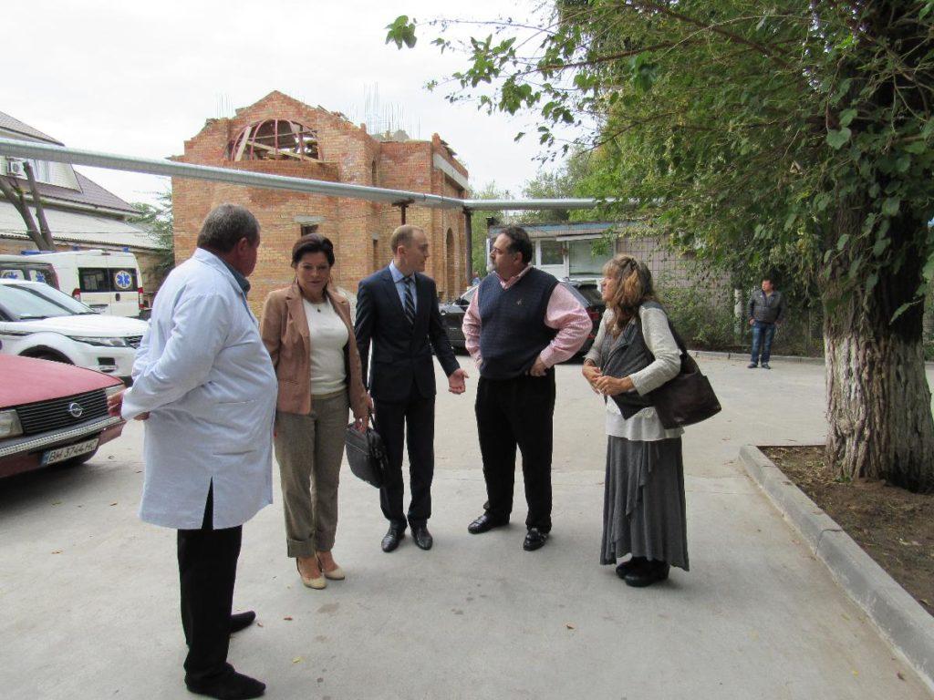Представители миссионерской организации из США «Дороги надежды» посетили Белгород-Днестровский