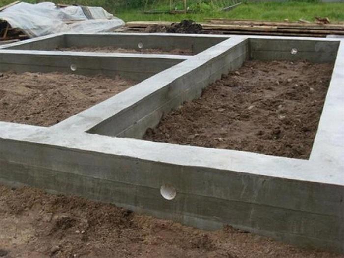melkozaglublennyj-fundament-2 Строим канадский дом из SIP панелей своими руками