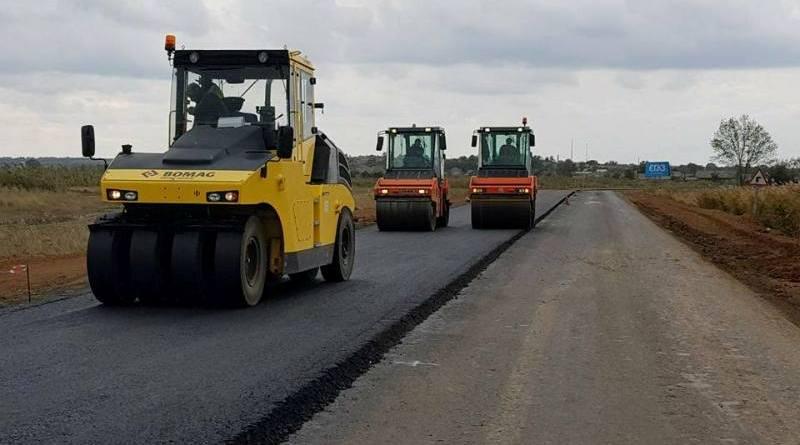 1-1 Ремонт трассы Одеса-Рени: на большинстве участков работы завершены или выходят на финишную прямую