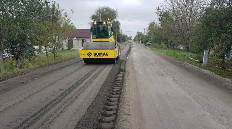 1-2 Ремонт трассы Одеса-Рени: на большинстве участков работы завершены или выходят на финишную прямую