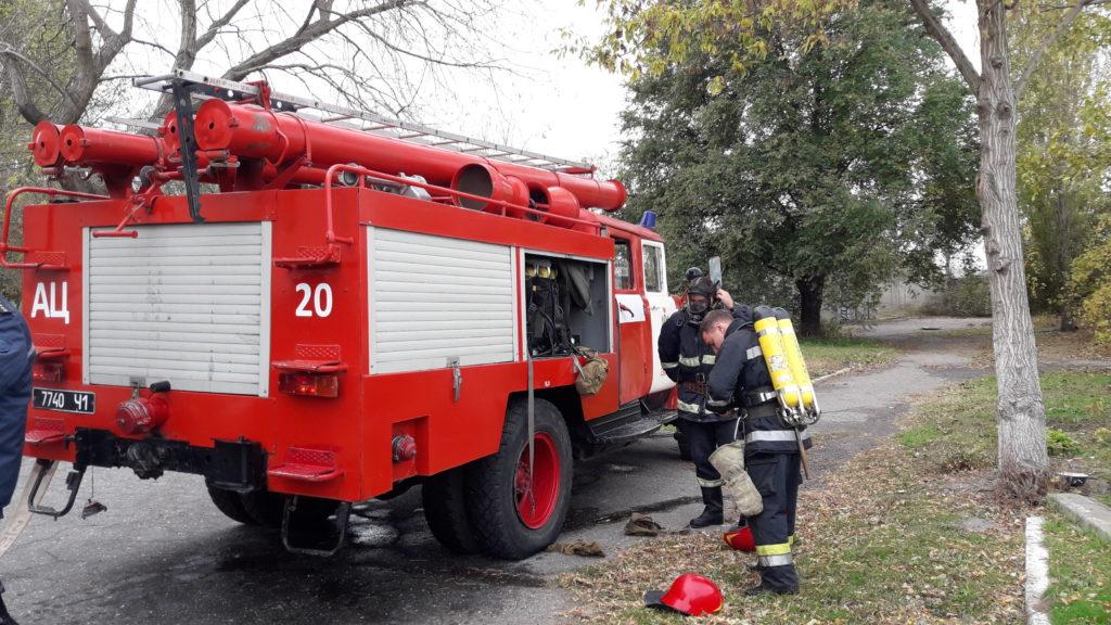 20171103_111636-1024x576 Измаильские спасатели отрабатывали с сотрудниками «инфекционки» действия в случае возникновения пожара