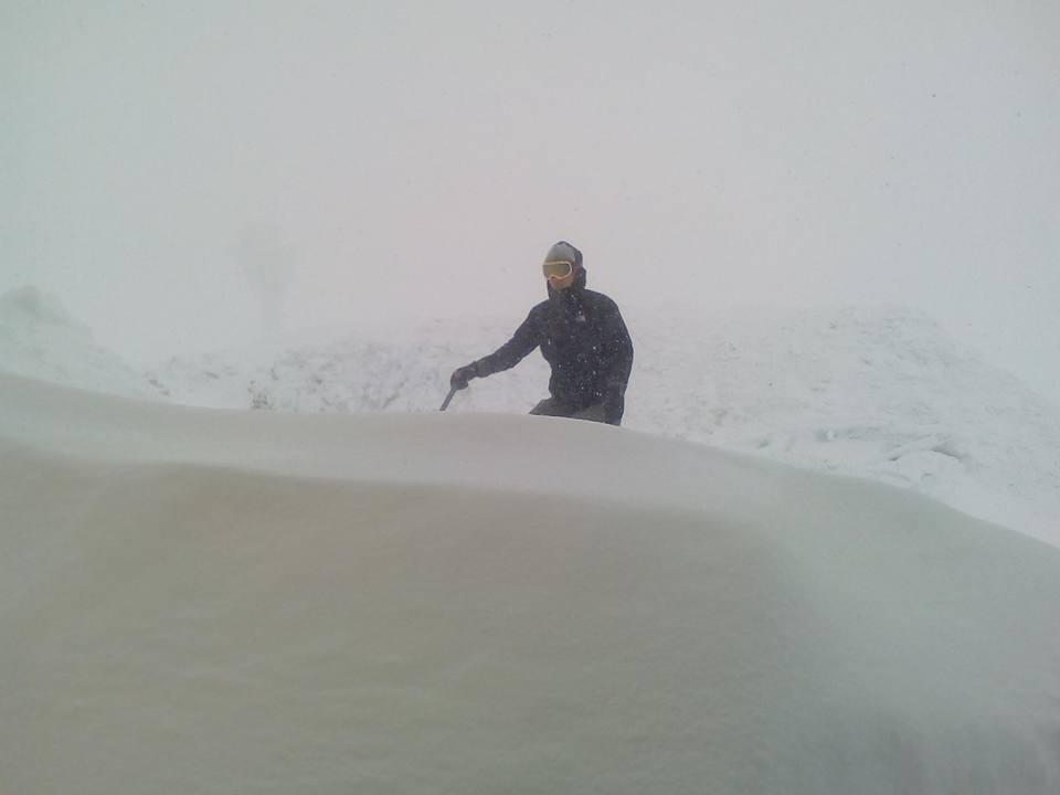 22886330_1149073018559129_3392513196060350772_n В Карпатах местами уже намело 1-2 метра снега