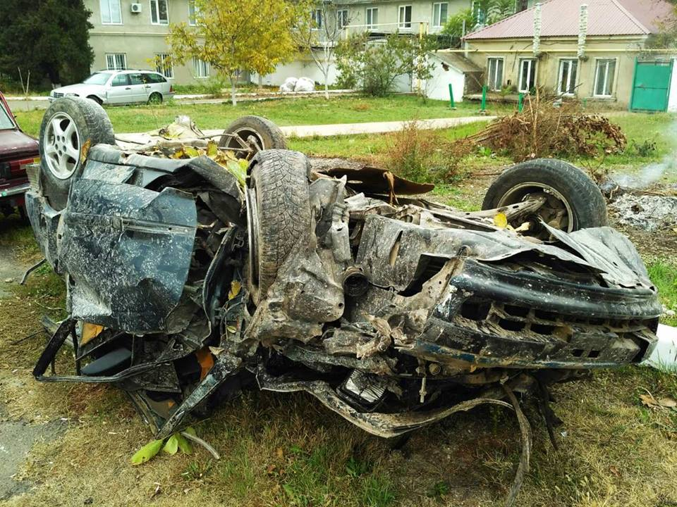 В Болграде в результате опрокидывания авто два человека попали на больничные койки