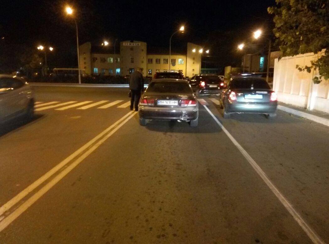 "ДТП в Измаиле: на Репина Mazda ""догнала"" Nissan"