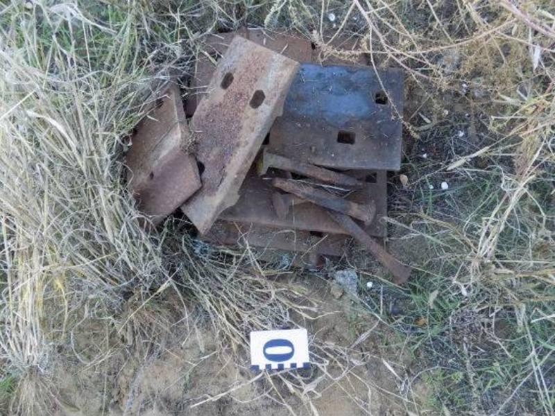 В Аккермане злоумышленники разбирают железнодорожные пути на металлолом