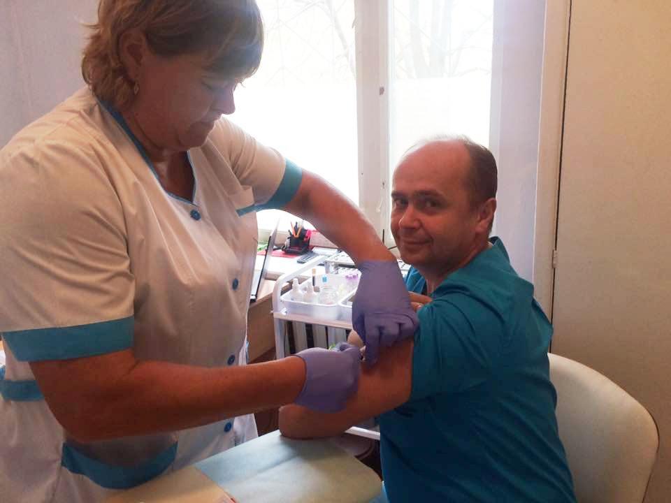 23518934_1041277172679715_5778474044558820571_n В Килийском роддоме вакцинируют беременных от гриппа и поддерживают всеукраинский флешмоб