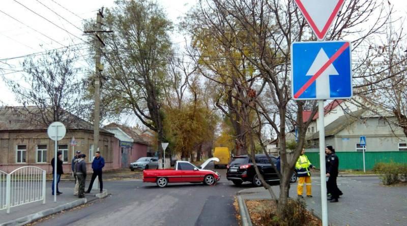 Hyundai vs Opel: в Измаиле очередное ДТП