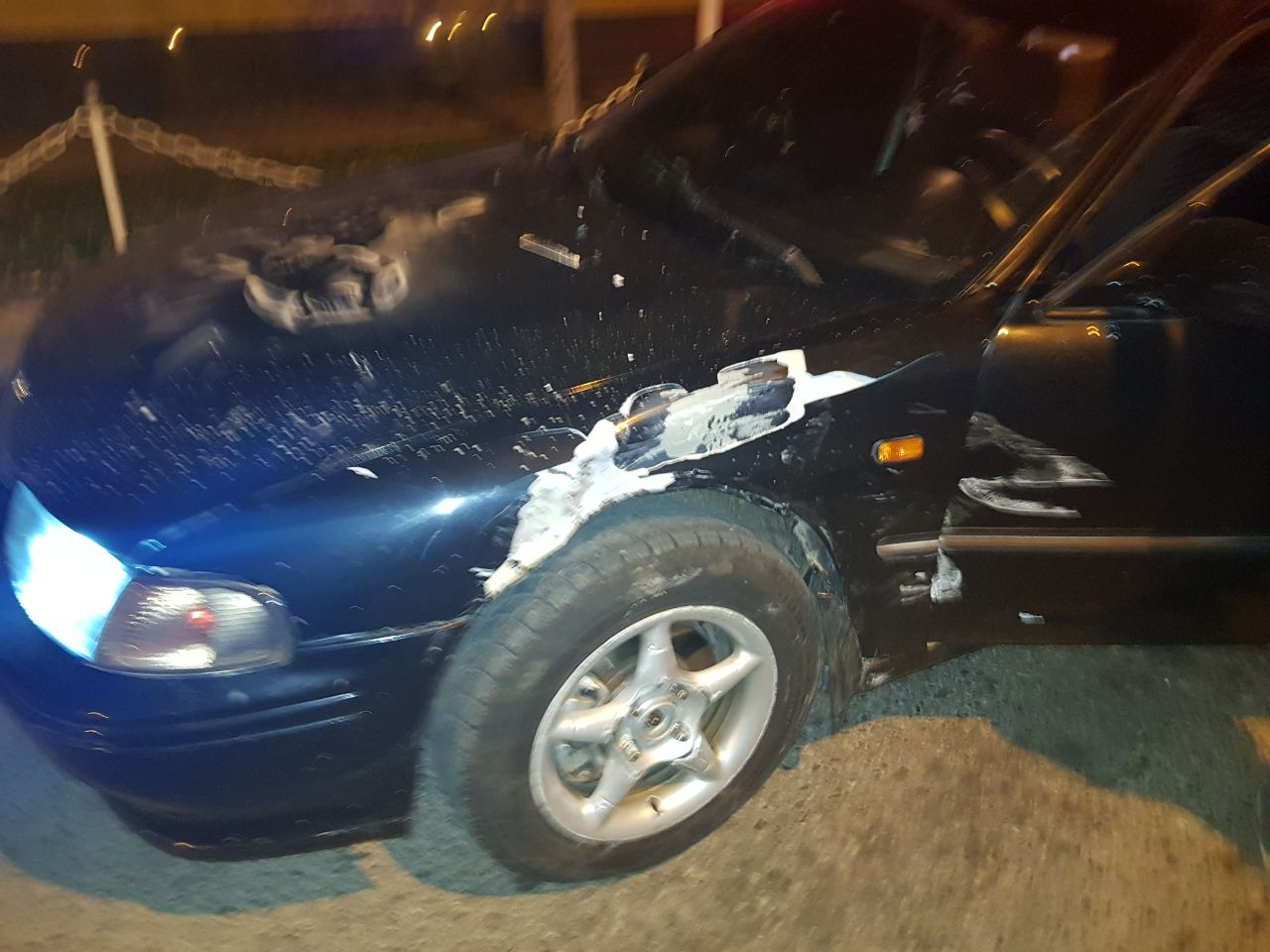 34623634 ДТП в Измаиле: на проспекте Суворова Mazda легла на крышу