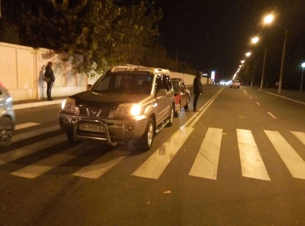 "3523463573545 ДТП в Измаиле: на Репина Mazda ""догнала"" Nissan"