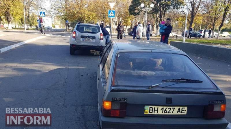 59fad8372d8e6_23462346 Еще одно ДТП в Измаиле: на Клушина Renault зацепил Citroen