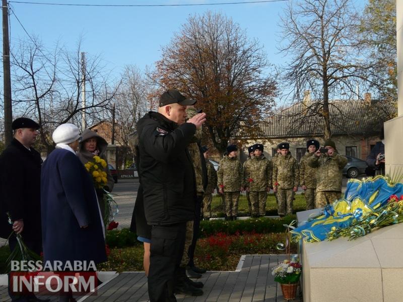 5a13e15052417_P1140626 Четвертая годовщина начала Евромайдана: в Измаиле горожане несли цветы к памятнику Кобзарю
