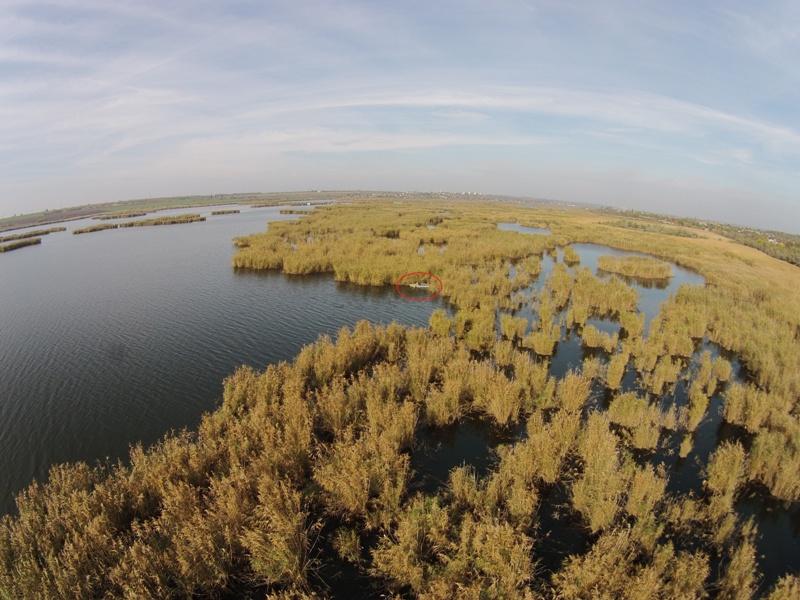 Белгород-Днестровские пограничники ловят нарушителей на водоемах с помощью квадрокоптера