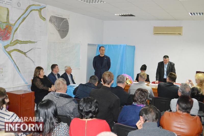Первая сессия Вилковской ОТГ: начало новой жизни