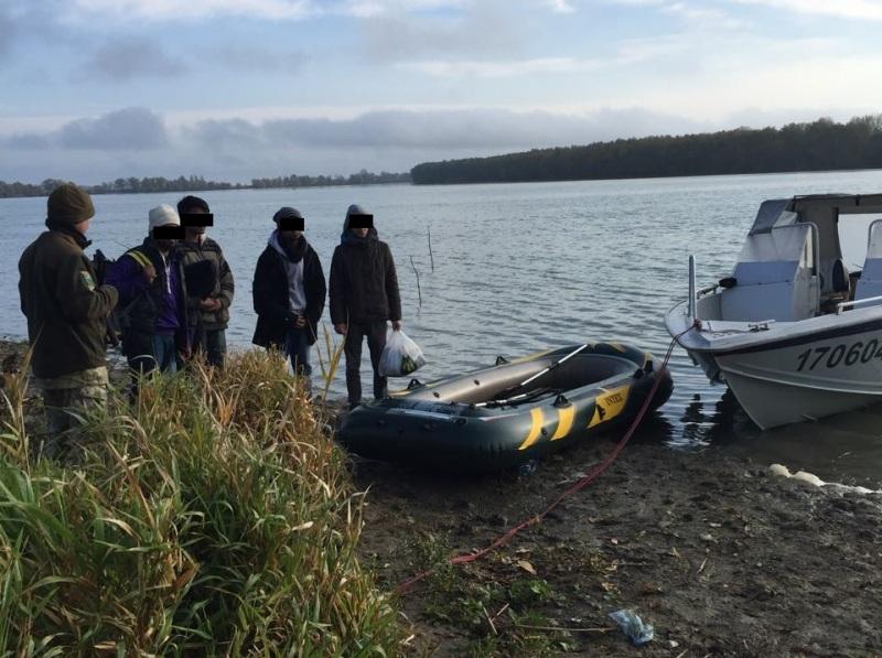 На Дунае в районе Килии задержаны трое нелегалов из Пакистана