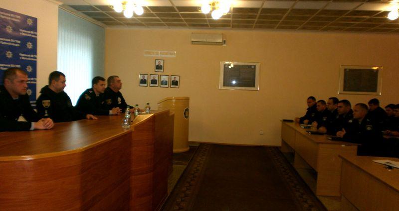 Арцизским полицейским представили нового шефа - им стал бывший начальник полиции Измаила