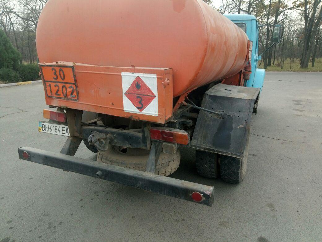 В Измаиле на АЗС произошло ДТП с участием бензовоза